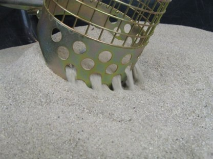 """Royal 15"""" Single Perforated Beach Scoop"""