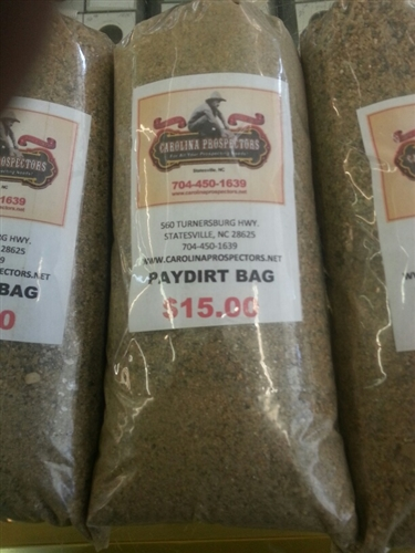 SAVE!!! 2 PAYDIRT BAGS - APPROX. 2 LBS. $7.90 SHIPPING