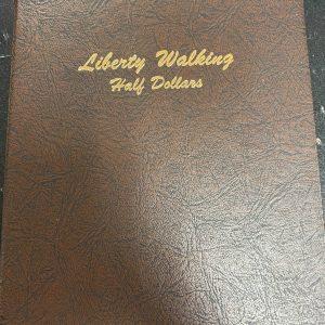 7160 - Dansco Liberty Walking Half Dollars 1916-1947 (Used)