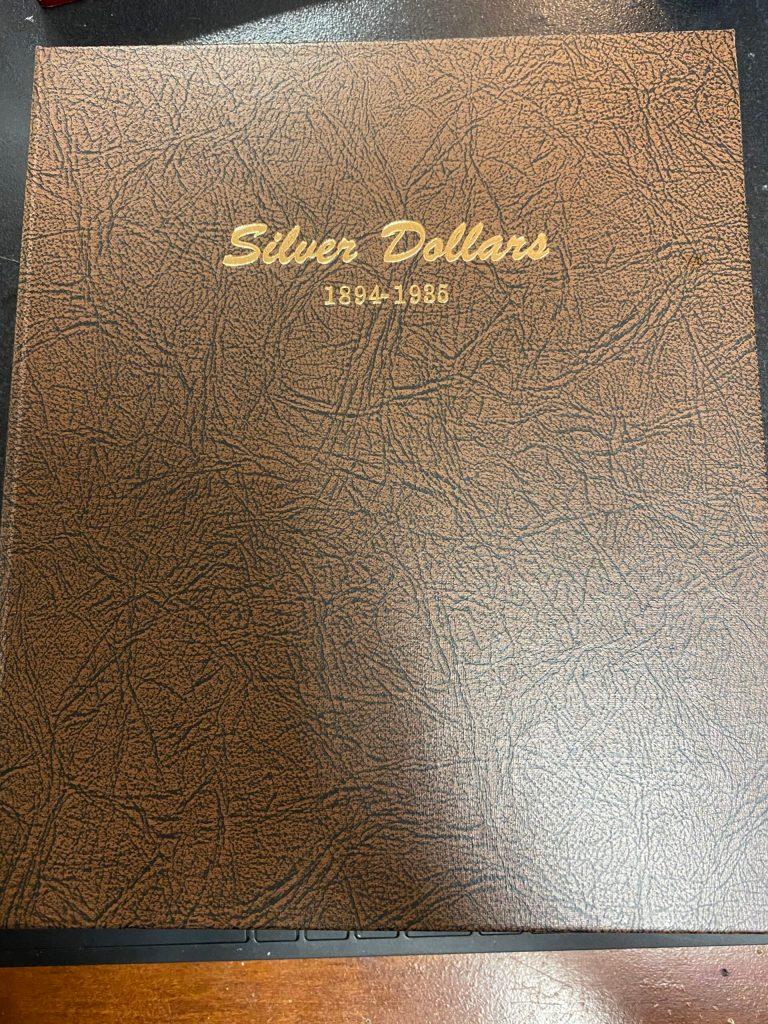 7174 - Dansco Silver Dollars 1894-1935 (USED)