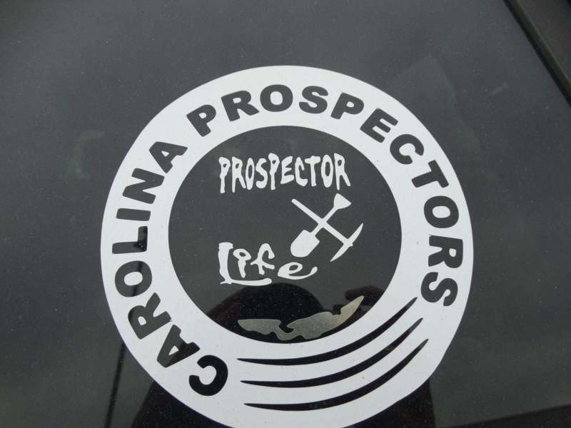 Carolina Prospectors Window Decal