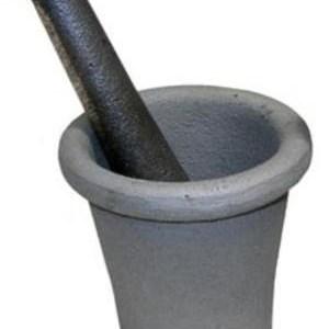 Large Mortar & Pestle - 1 Quart