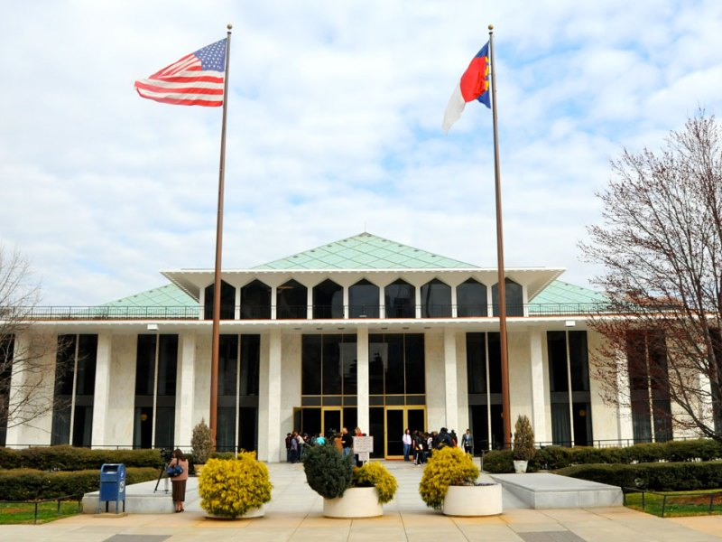The North Carolina General Assembly in Raleigh.