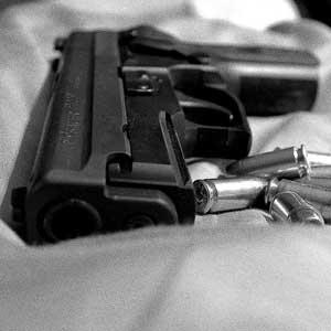 Stock image: gun