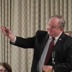 Rep. Chuck McGrady, during the 2014 legislative session. Kirk Ross/Carolina Public Press