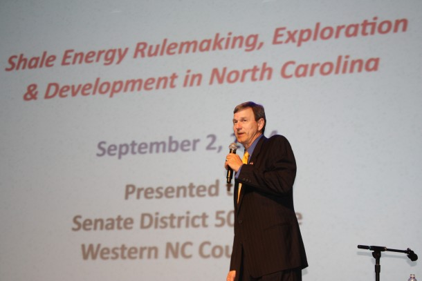 Jim Womack, the immediate past chairman for the Mining and Energy Commission, says the state