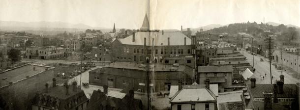 1904 Asheville panorama