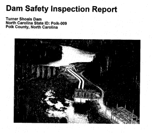 The 90-year-old dam at Lake Adger is in desperate need of repair, according to private and state inspectors. Under the proposed water agreement, ICWD would pay for maintenance of the dam, a key selling point for county commissioners who favor the proposed water system transfer.