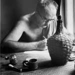 Charles Olson, BMC's rector in the 1950s, received multiple visits from the FBI. Photo courtesy North Carolina Western Regional Archives