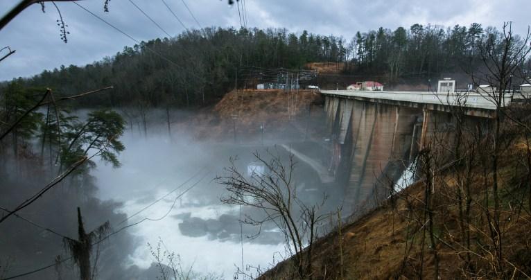 Lake Lure dam