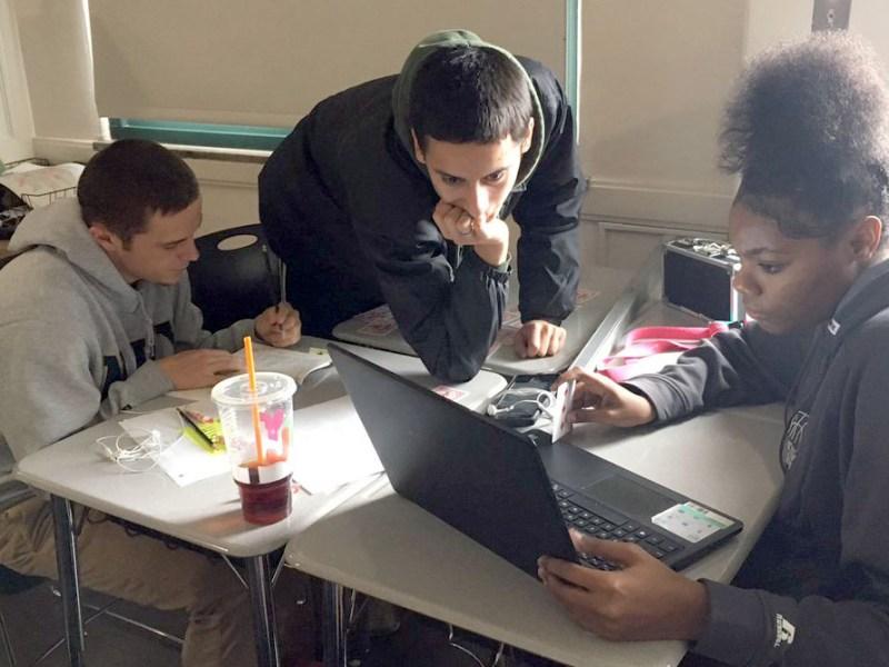 teachers Asheville High School literature class