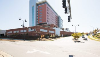 Mission Health North Tower hospital in Asheville, NC, is owned by HCA.