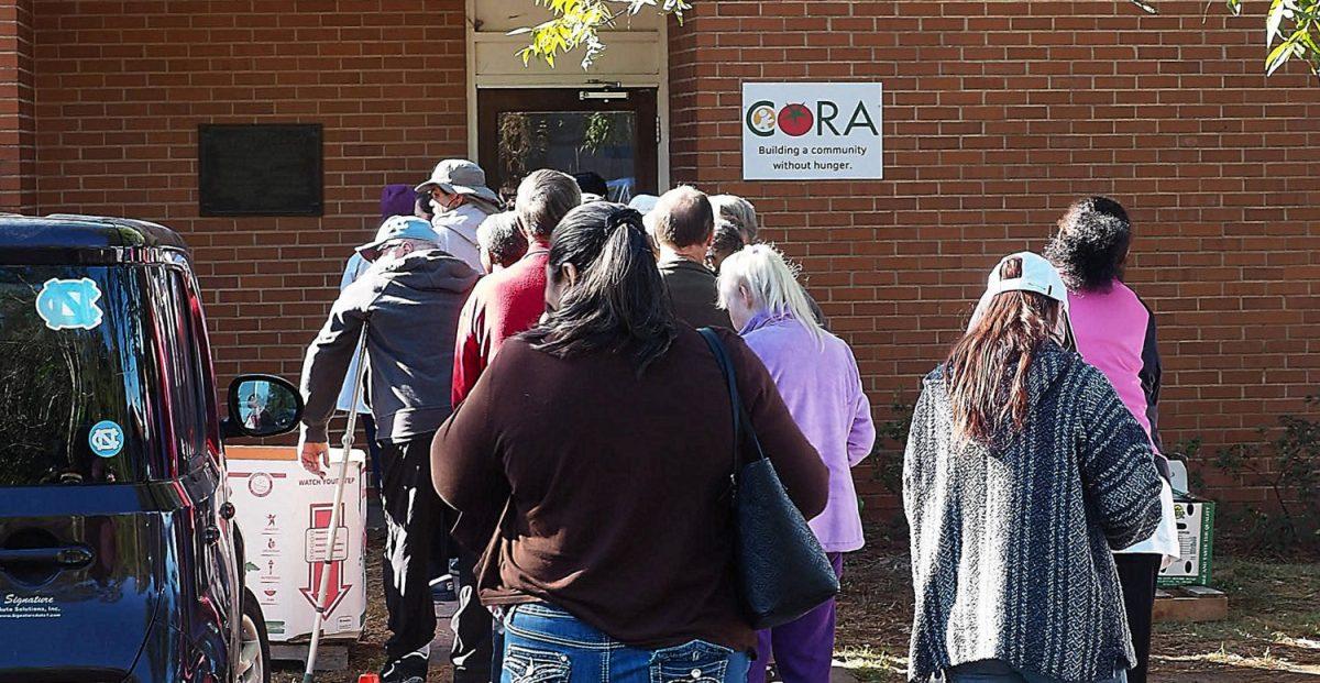 Line at CORA