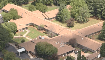 nursing homes The Citadel at Salisbury, a nursing home seen in this aerial photo, has one of the largest outbreaks of coronavirus cases in the state. It also has a recent history of deficiencies on its inspections. Photo courtesy of WBTV