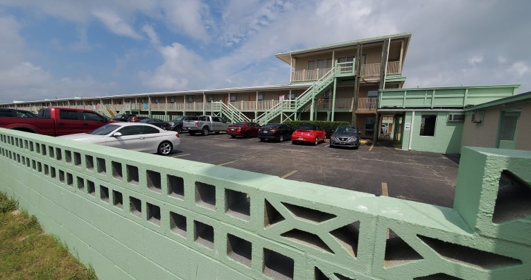 Pier Atlantic Beach Coastal NC fishing motel tourism environment