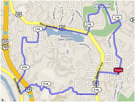 Deconstructing the Citizen-Times Half Marathon - Segment Two