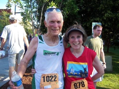 Lloyd Slocum and Martha Marshall
