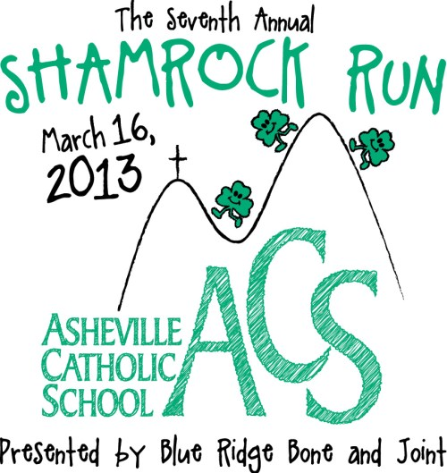 2013 Asheville Shamrock Run