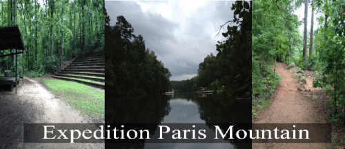 Expedition Paris Mountain 5 Mile and 10 Mile Trail Races