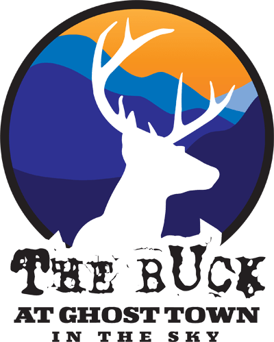 Buck Race at Ghost Town Logo V2