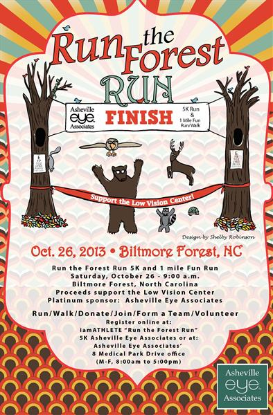 Run the Forest 5k Image