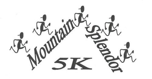 Mountain Splendor 5k Logo