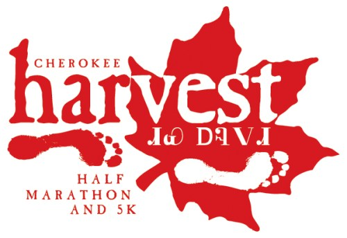 Cherokee Harvest Half Marathon and 5k