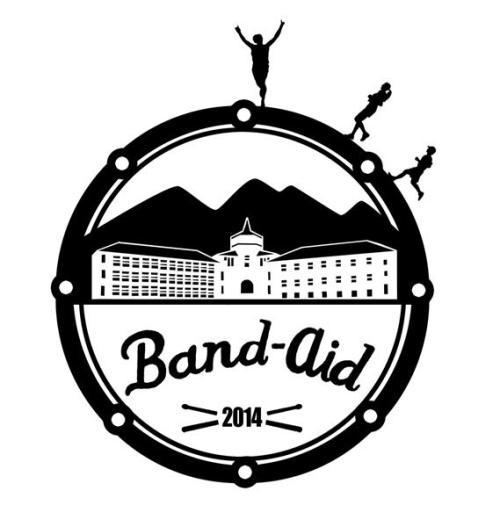 2013 Band Aid 5k and 8k Logo