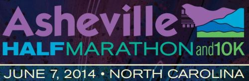 Asheville Half Marathon and 10k Banner