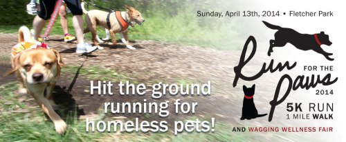 Run for the Paws 5k Banner