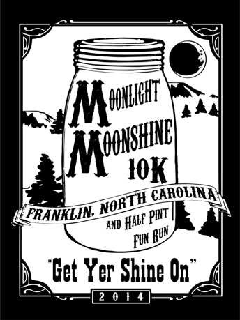 2014 Moonlight Moonshine 10k