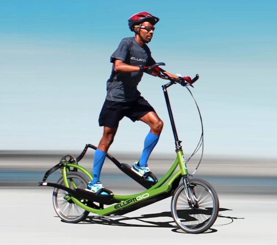 Meb on ElliptiGO