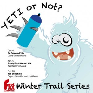Foot Rx Asheville Winter Trail Series 2014/2015