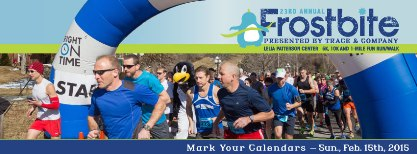 2015 Frostbite 10k and 5k
