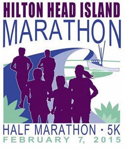 Hilton Head Marathon Half 5k
