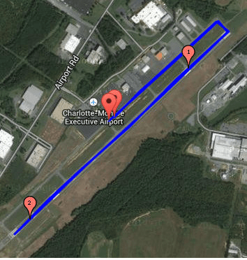 Runway Run 5k Course Map