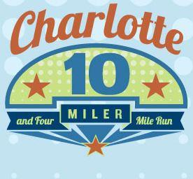 Charlotte 10 Miler and 4 Mile
