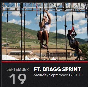 Reebok Spartan Ft Bragg Sprint