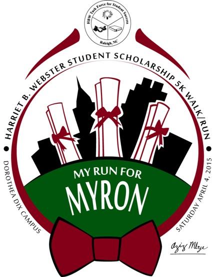 My Run for Myron 5k - Dorothea Dix Campus - Raleigh NC April 4 2015