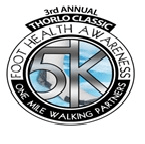 Thorlo Classic Foot Health 5k April 18 2015 Statesville NC