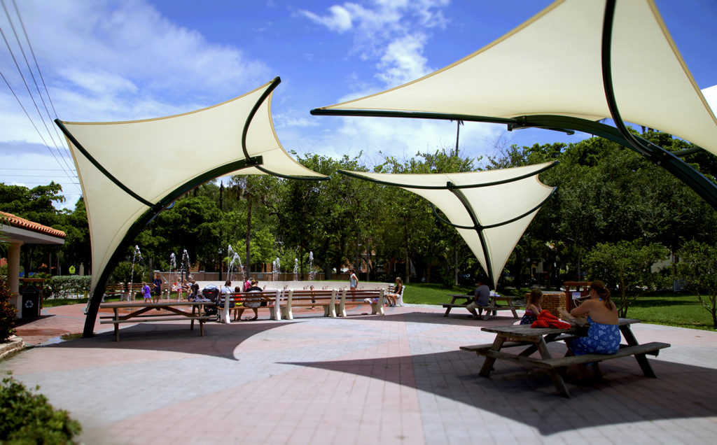 shade structures shade sails shade fabric architectural on Round Shade Sail id=27132