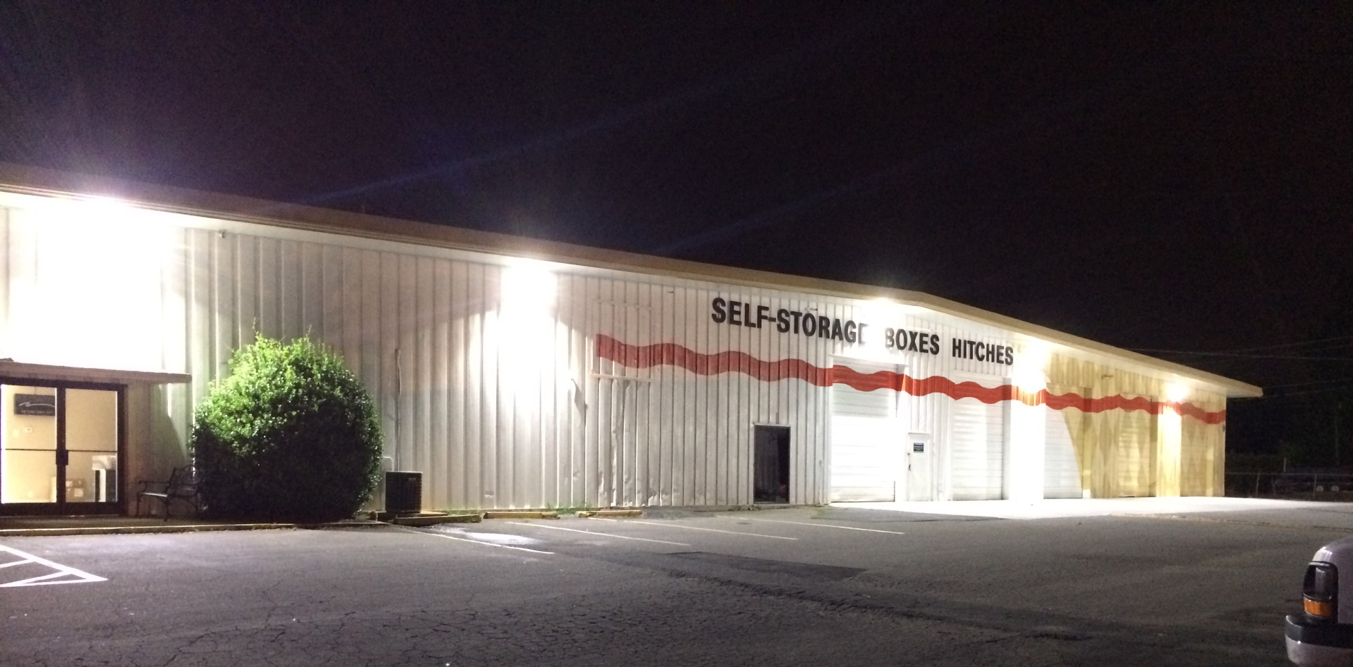 commercial outdoor lighting charlotte