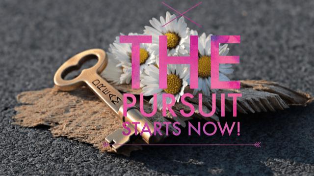 The Pursuit Starts Now