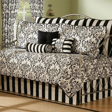 Ikea Black/White Bedding