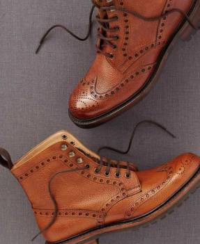 Men's Brogue Wingtip Boots Sir Byron Laurent