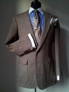 Men's Tweed Blazer Sir Byron Laurent