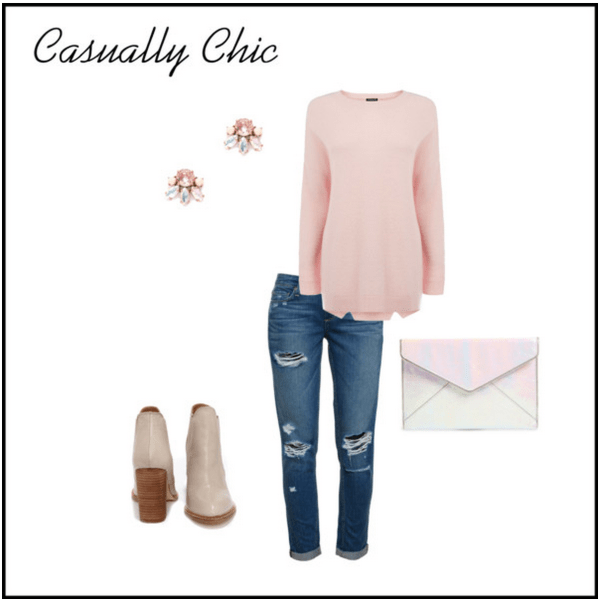 Valentine's Day Outfit | Casually Chic