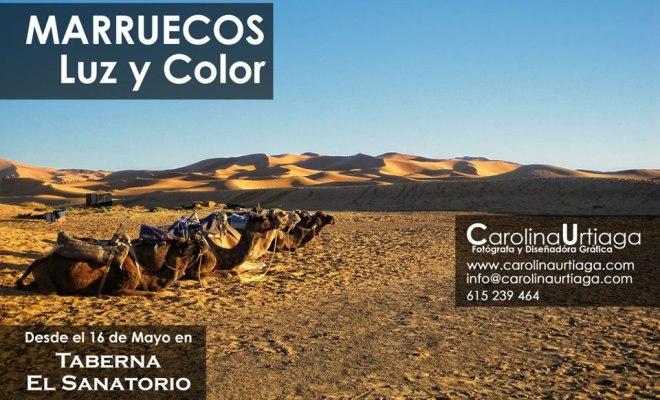 """Gran inauguración de """"Marruecos Luz Y Color"""""""