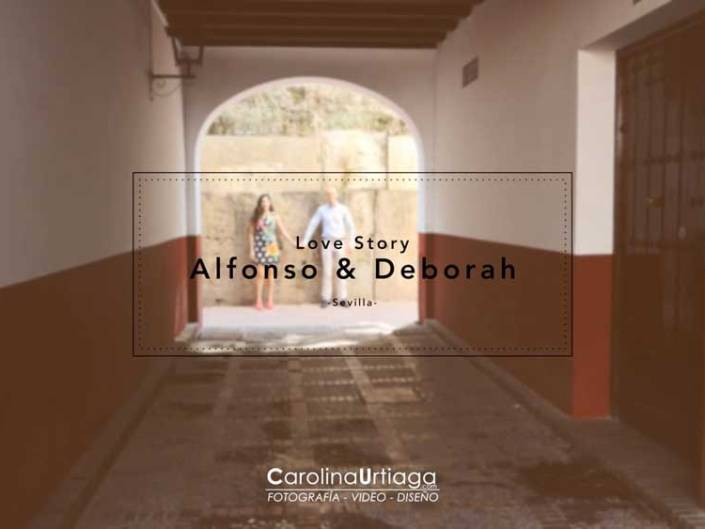 Preboda Alfonso y Deborah en Sevilla