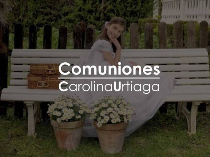 Comuniones Carolina Urtiaga